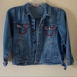 True Religion Girls Denim Jacket
